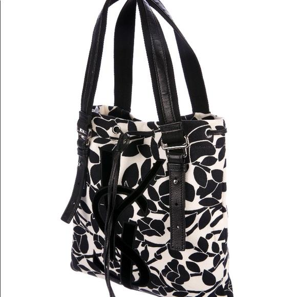 d8bd897161 Yves Saint Laurent Bags | Ysl Kahala Floral Tote | Poshmark